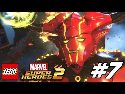 LEGO Marvel Superheroes 2 Gameplay Walkthrough Part 7 – Surtur-n ...
