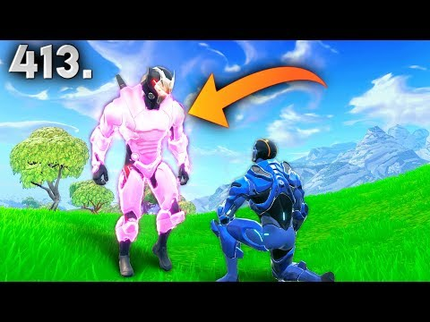 First Pink Omega Skin Fortnite Daily Best Moments Ep 413
