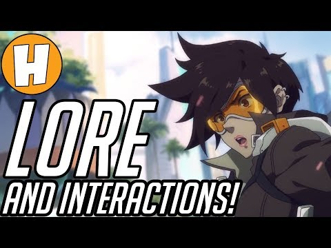 tracer overwatch lore interactions voice lines explained