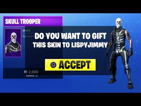 New Gifting System Fortnite