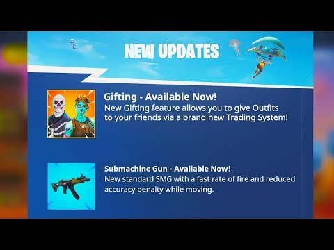 New Gifting System Official Release Date Fortnite Season 5