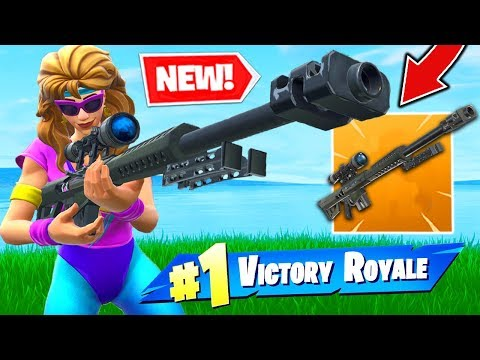New Legendary Heavy Sniper In Fortnite Battle Royale Strafe Videos