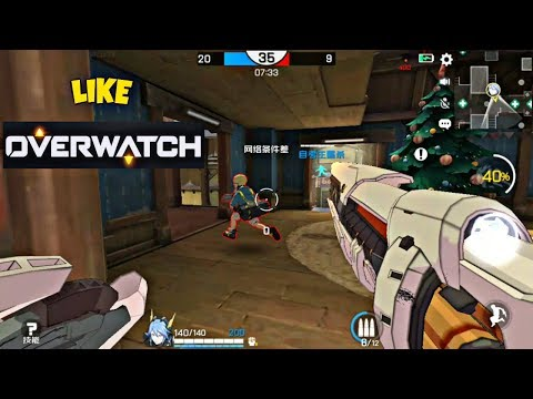 ace force android gameplay by tencent like overwatch strafe videos