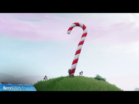 Fortnite Battle Royale All Giant Candy Cane Locations Guide 14