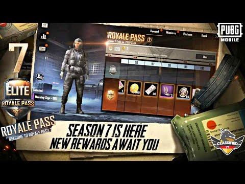 Pubg Royale Pass Season 7 Rewards | Pubg Generator Online